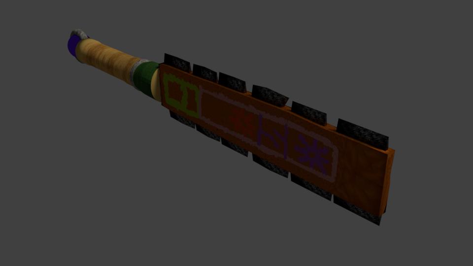Maquahuitl (Aztec Sword)