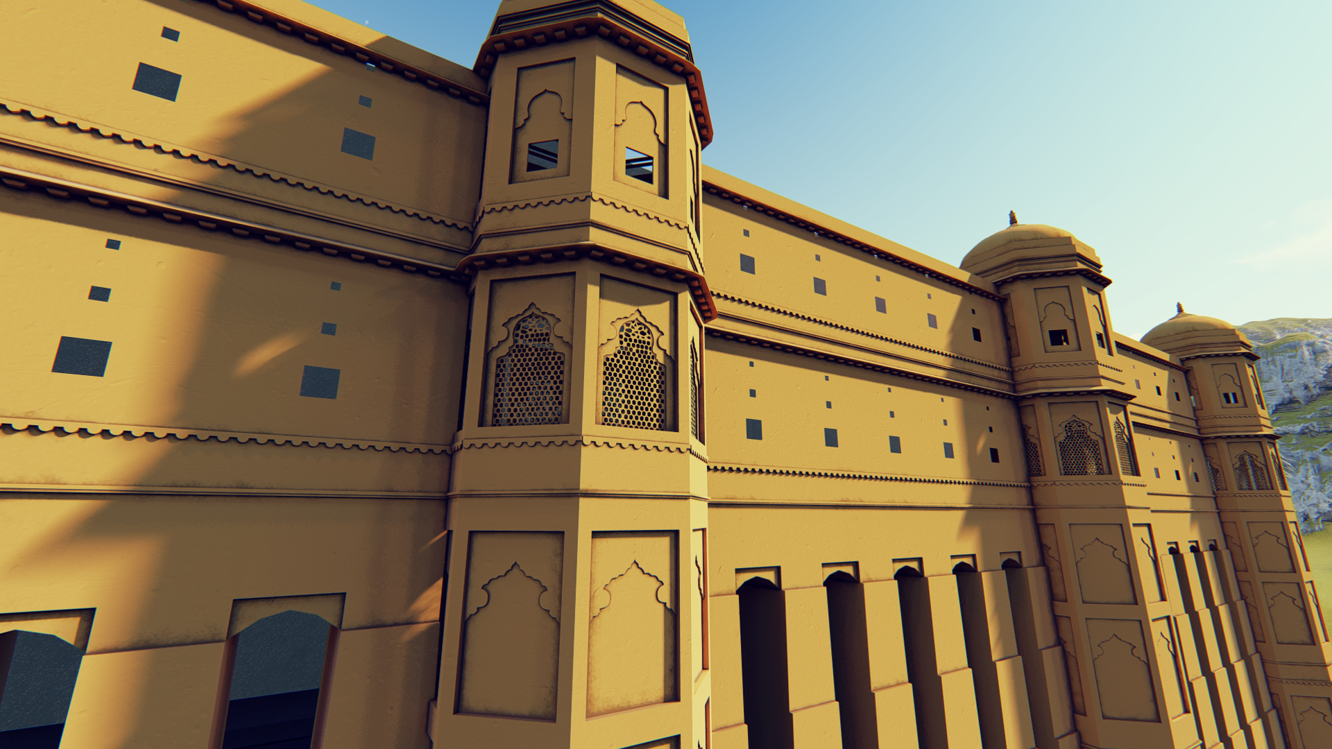 Amber Fort 3D