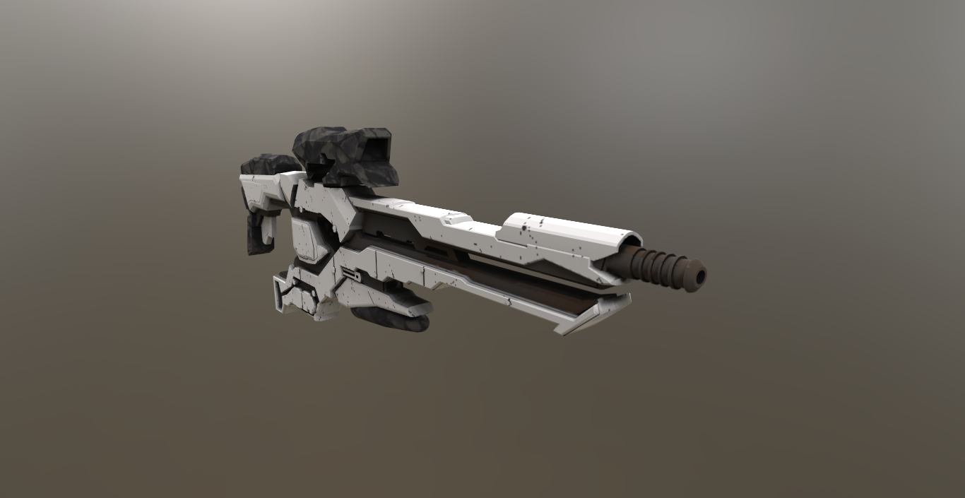 futuristc rifle