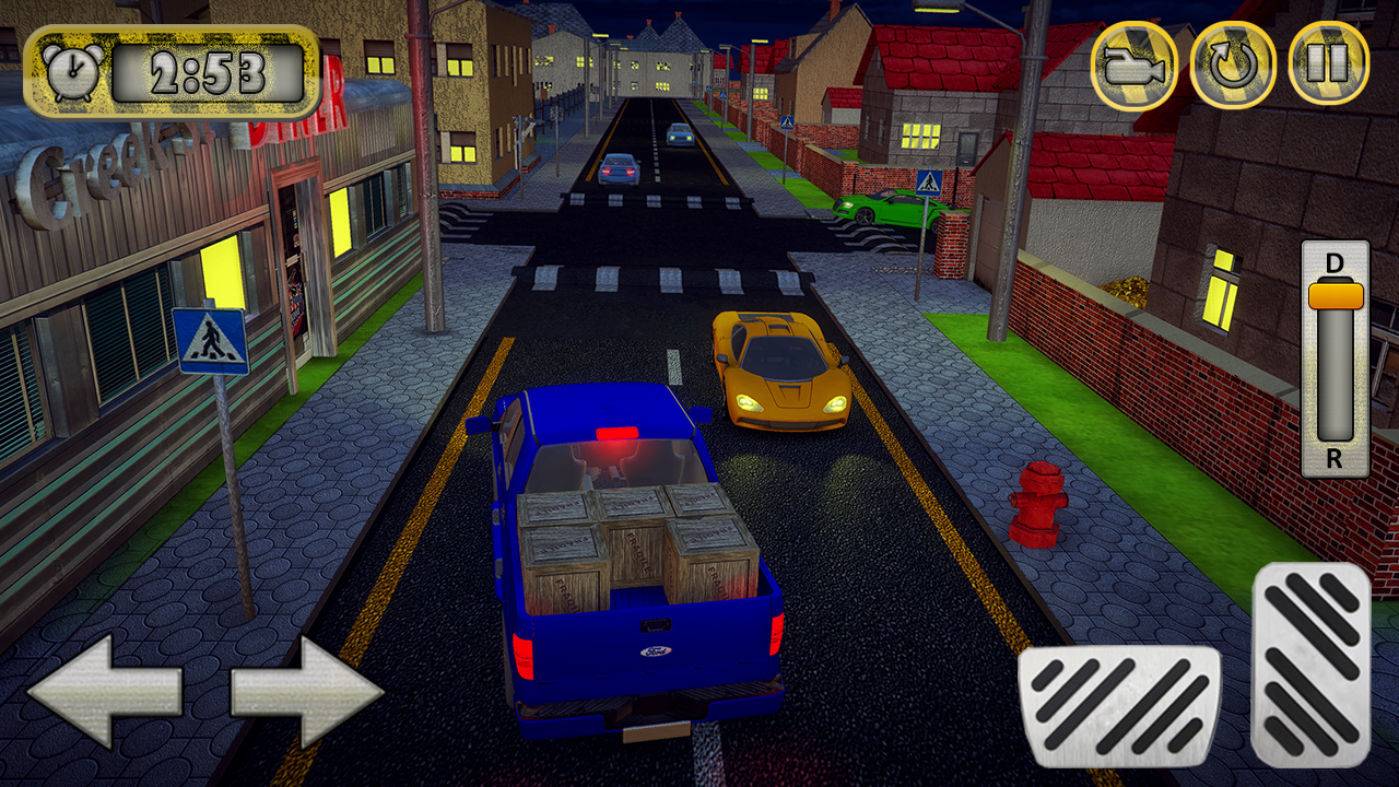 Truck Simulator: Real city Transport 3D