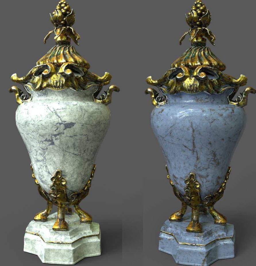 Rococo Vase