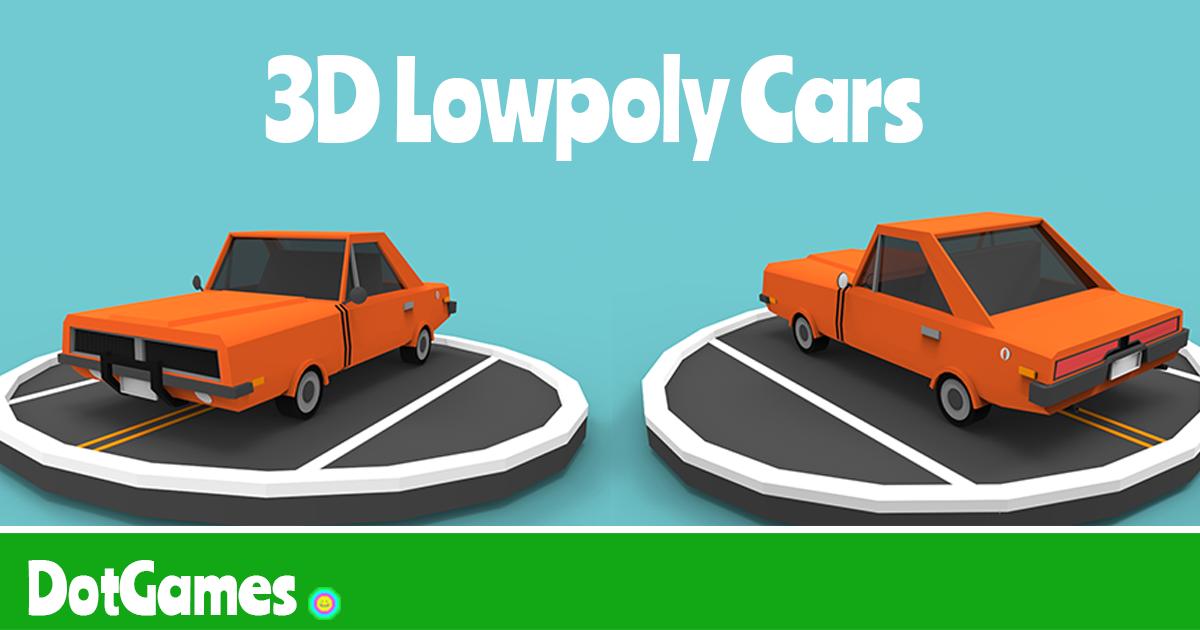 3D Lowpoly Car