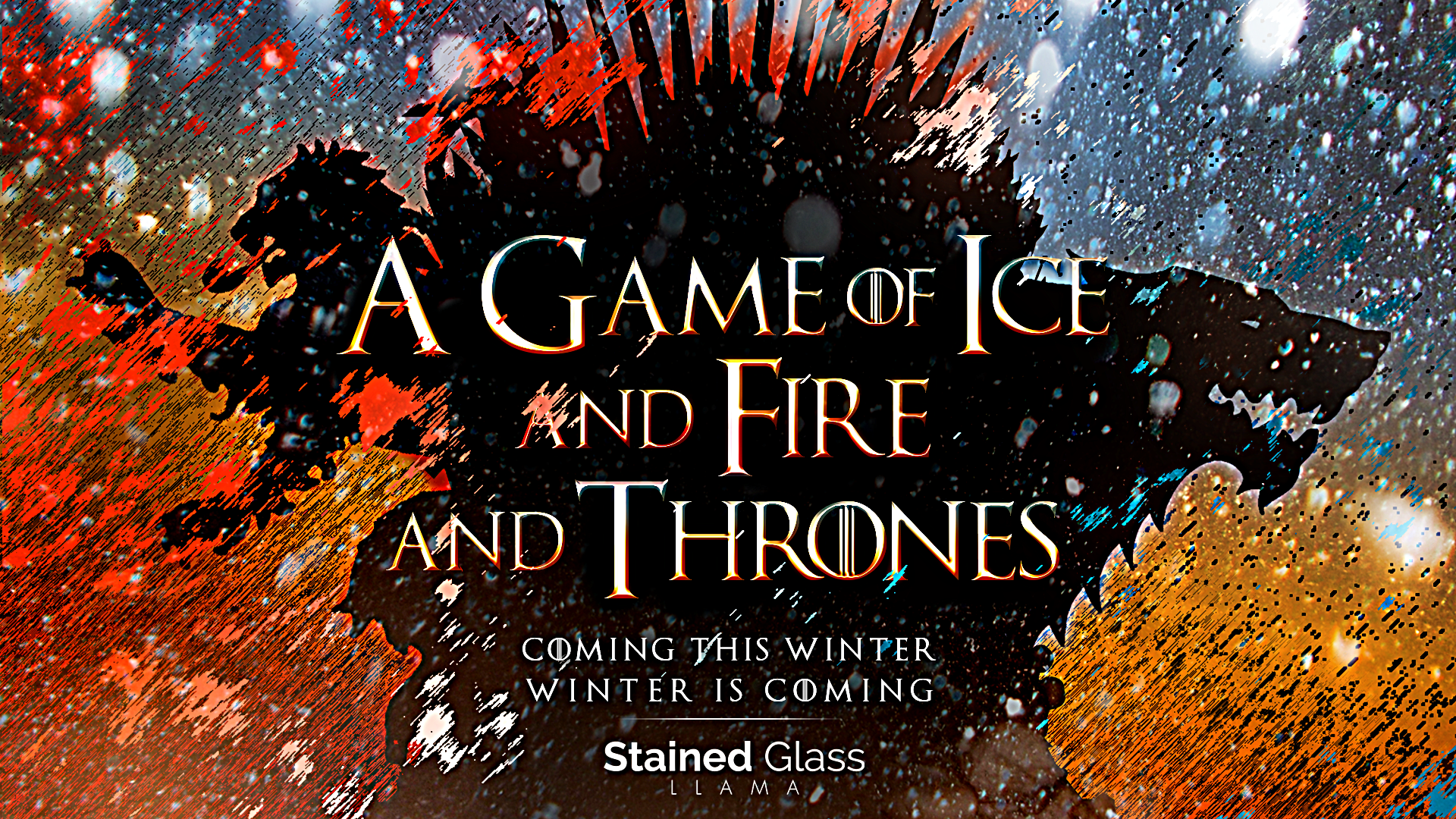 A Game of Ice and Fire and Thrones