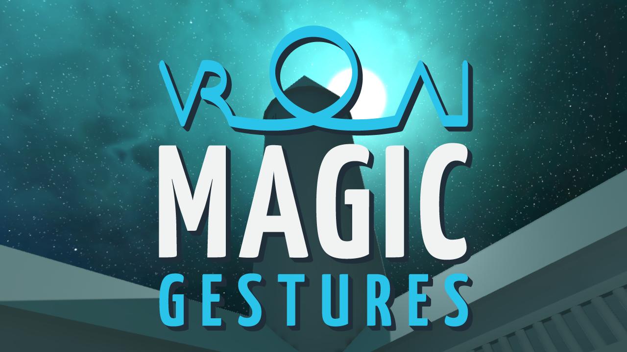 VR Magic Gestures AI