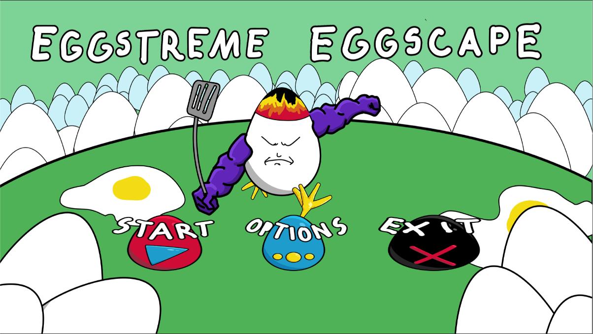 Eggstreme Eggscape! (gamejam)