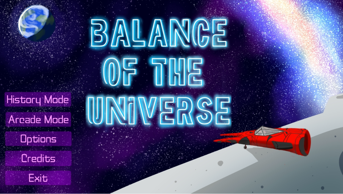 Balance of the Universe