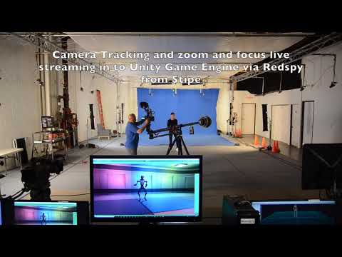 Live Motion capture and camera tracking direct in Unity