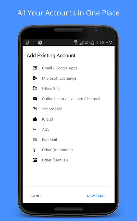 Inky Secure Mail for Android