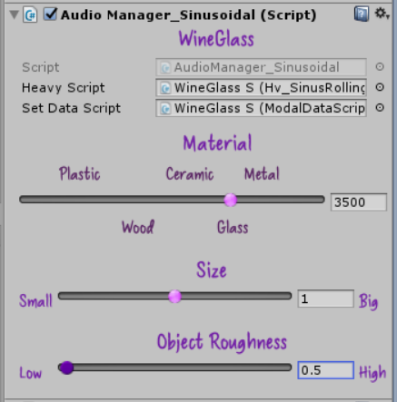 Procedural 3D Audio in AR Applications
