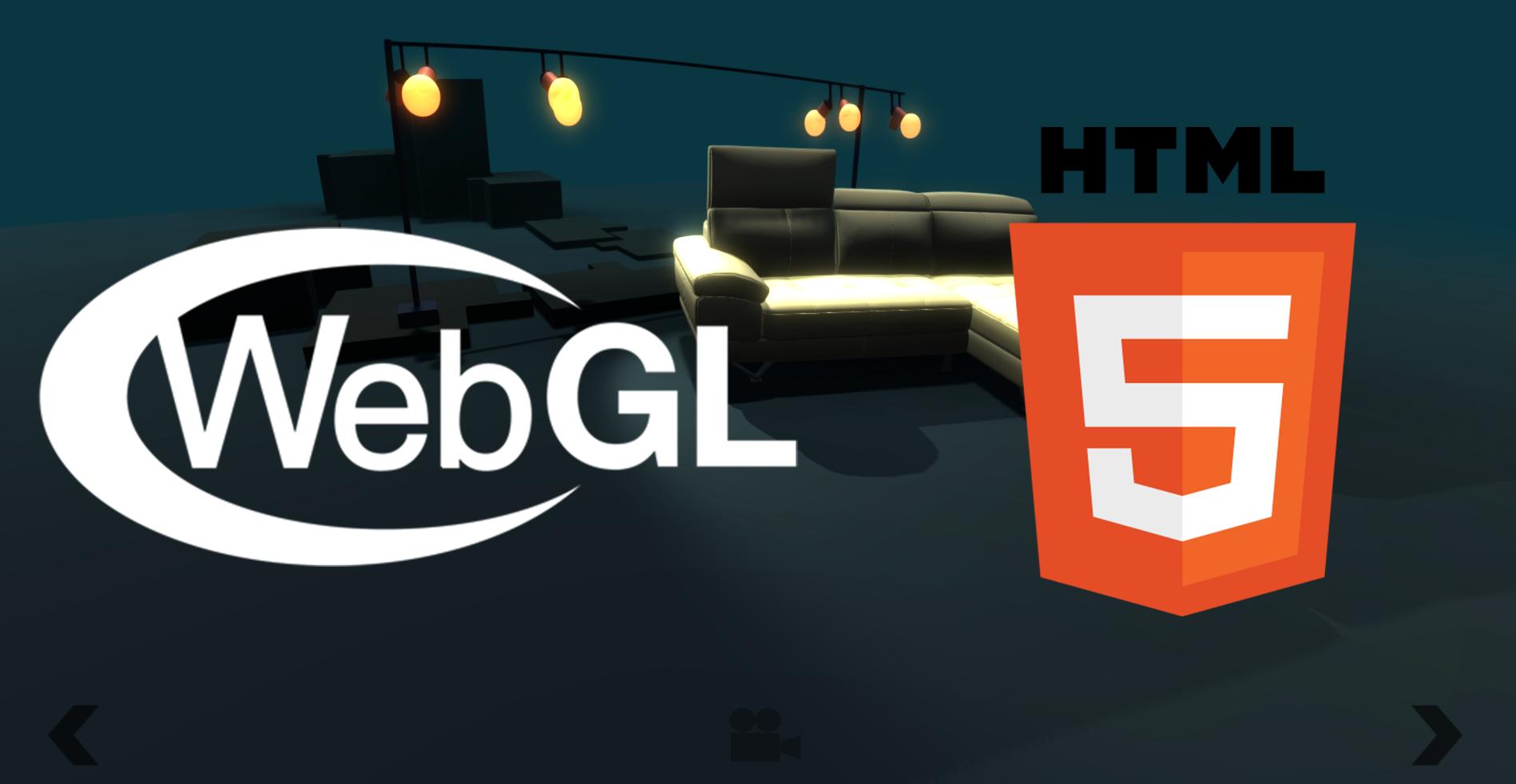 Sofas 3D Model Viewer (Unity, WebGL, HTML 5)
