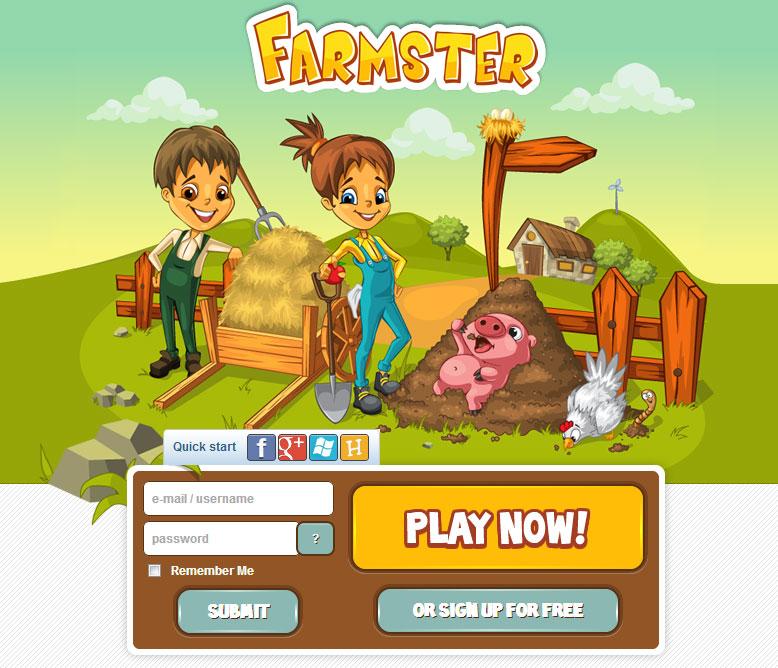 Farmster Farming Game