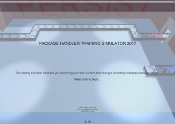 Package Handler Training Simulator