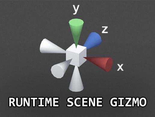 Runtime Scene Gizmo [Asset Store]