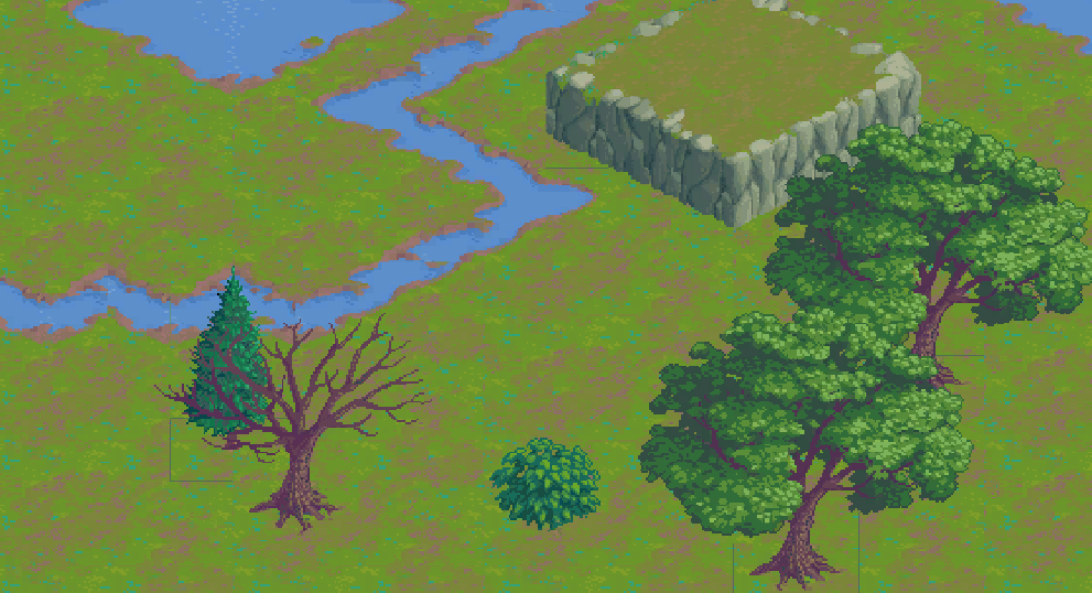 Isometric tiles with Tilemap in Unity 2017.3