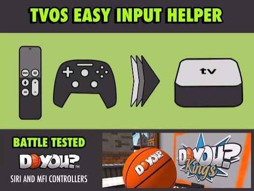 TVOS Easy Input Helper for Apple TV