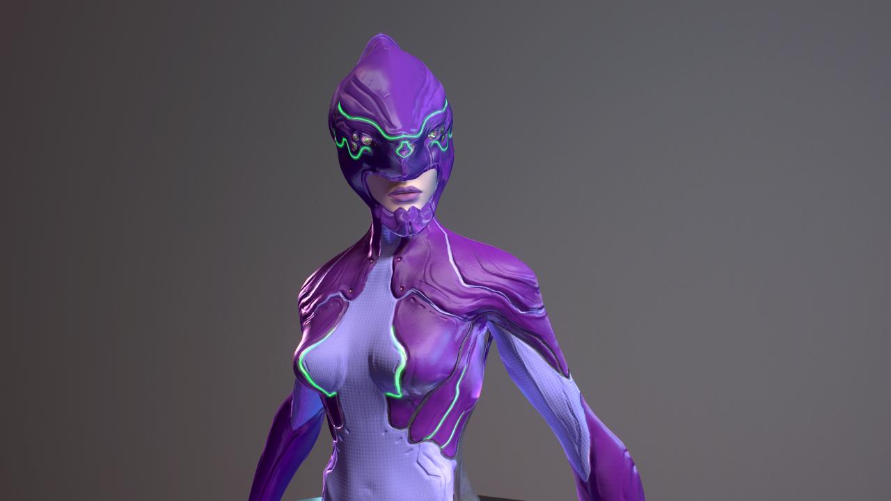 Bioarmor sci fi character