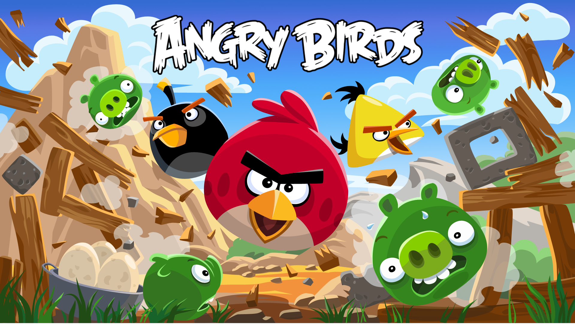 Angry Birds Classic, Seasons and Rio