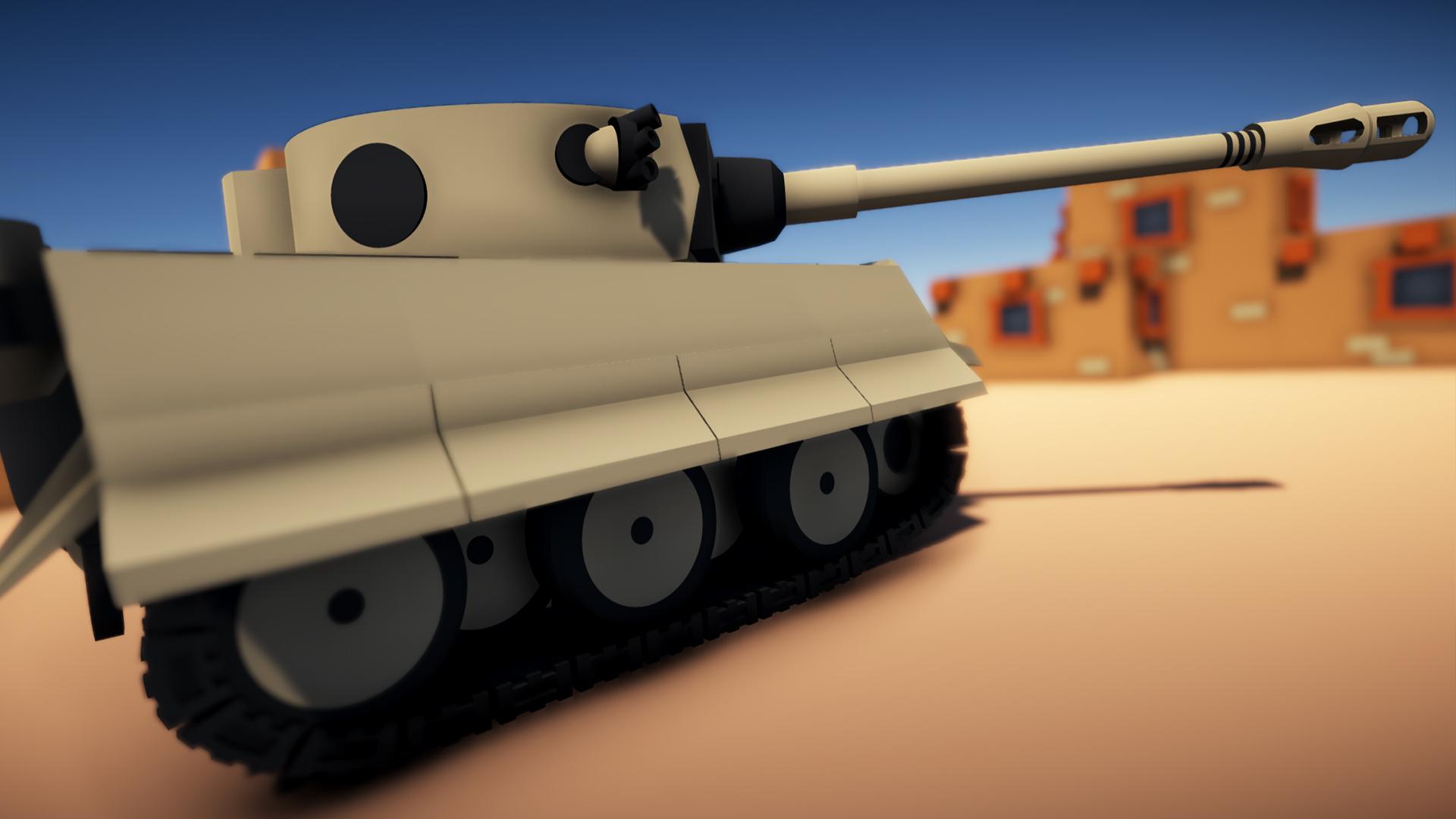 Tiger 1 Toon