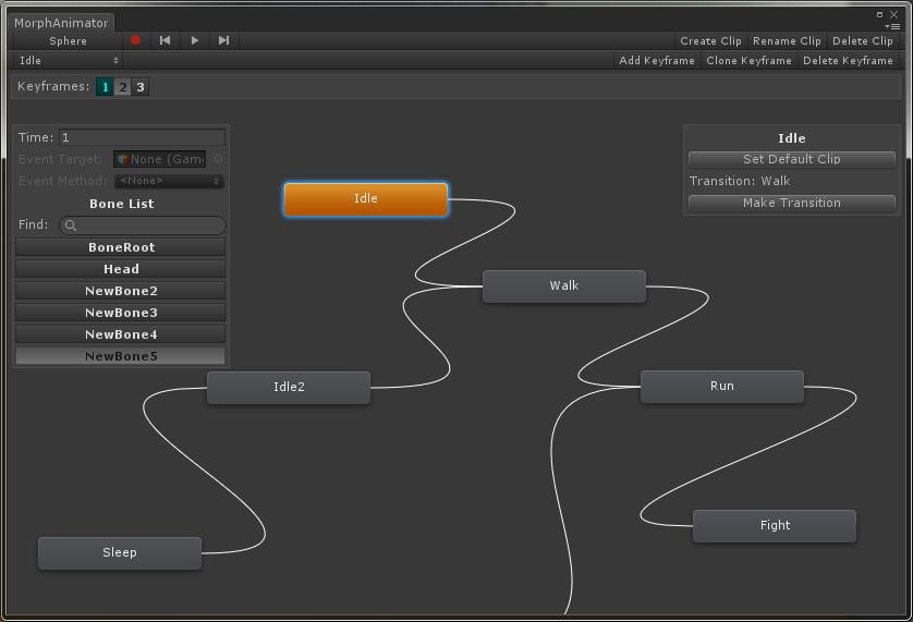 Morph Controller 使用教程