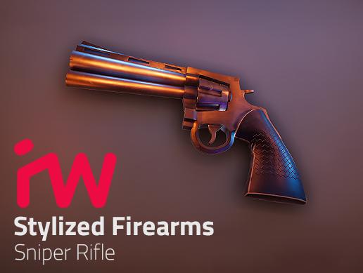 Stylized Magnum Revolver