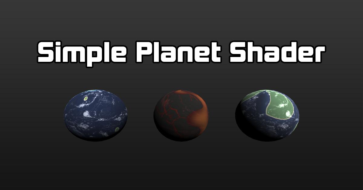 Planet Shader