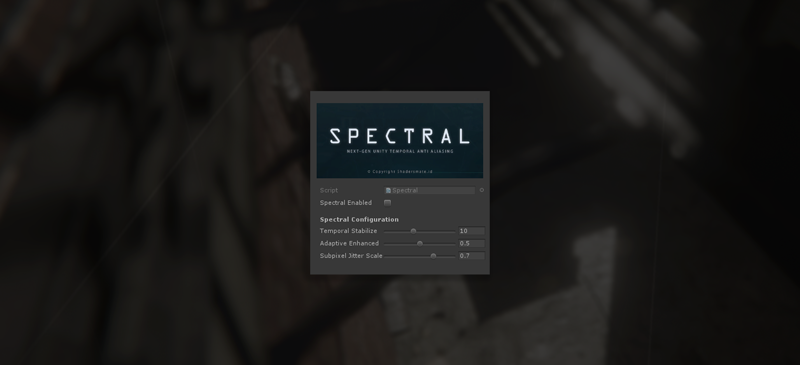 Spectral TXAA with Modular City Alley - Vol.1 (wip)