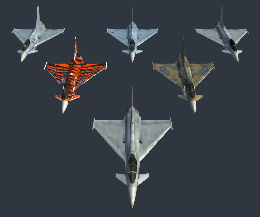 Eurofighter Typhoon (Low Poly)