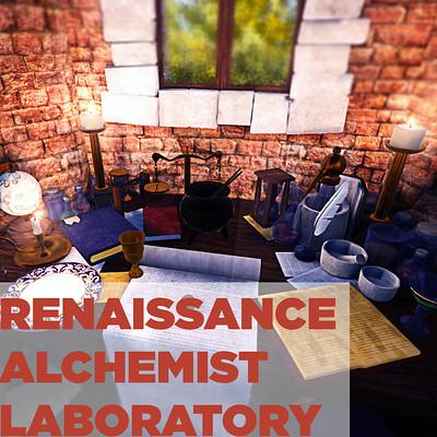 Renaissance Alchemist Laboratory