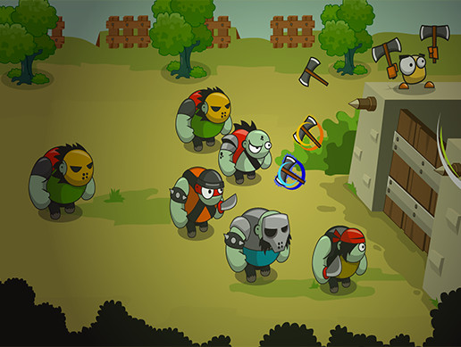King Bird Defense-Unity Game Template
