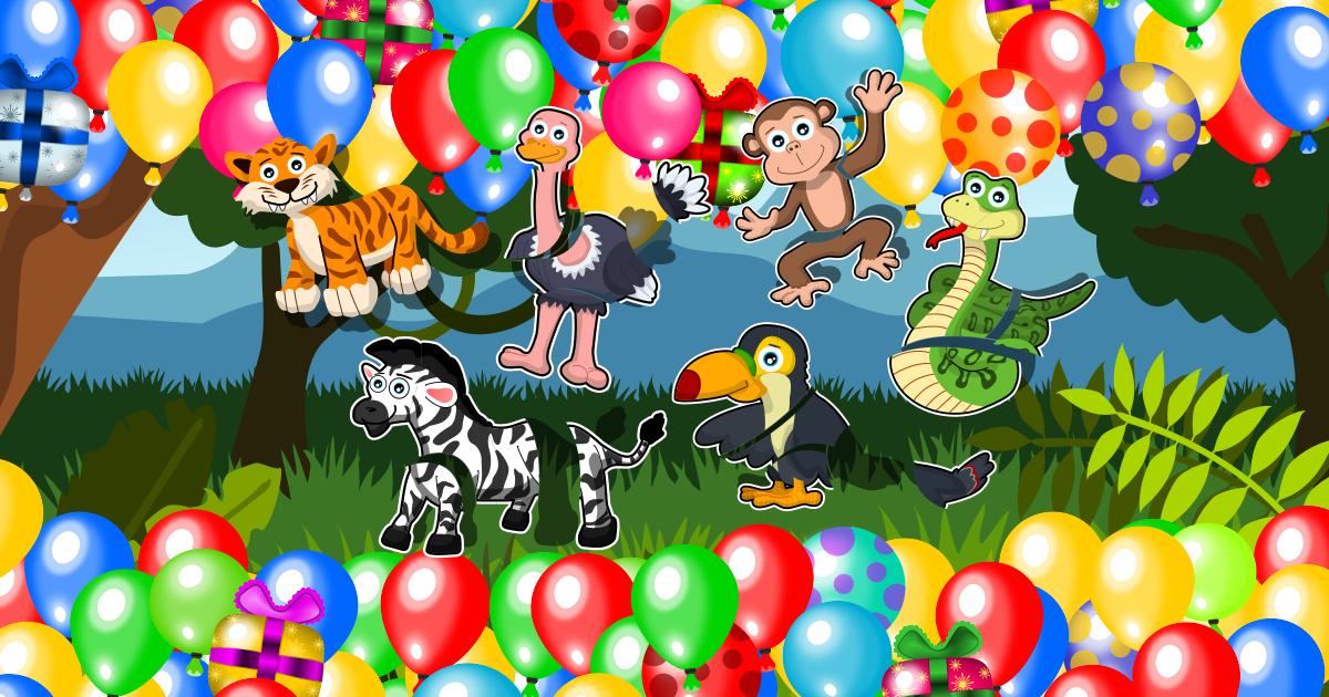 Kids Puzzle Game Jungle Animals