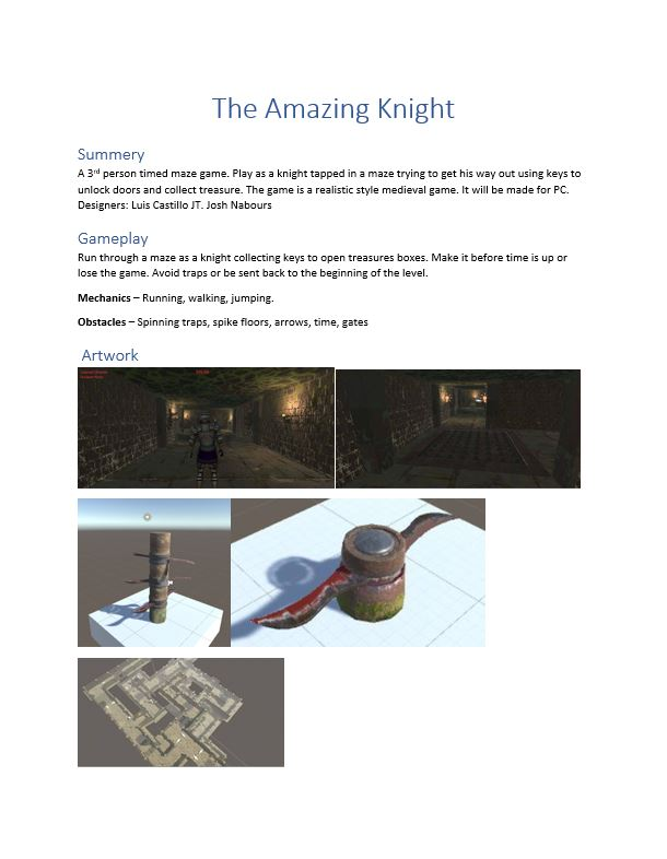 The aMAZEing Knight