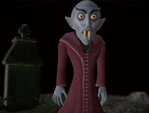 Nosferatu caricature