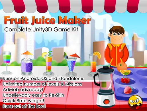 Fruit Juice Maker Game Kit