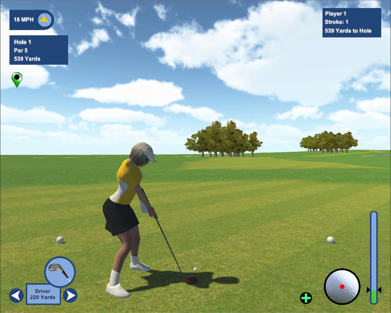 Mac OSX Golf Game
