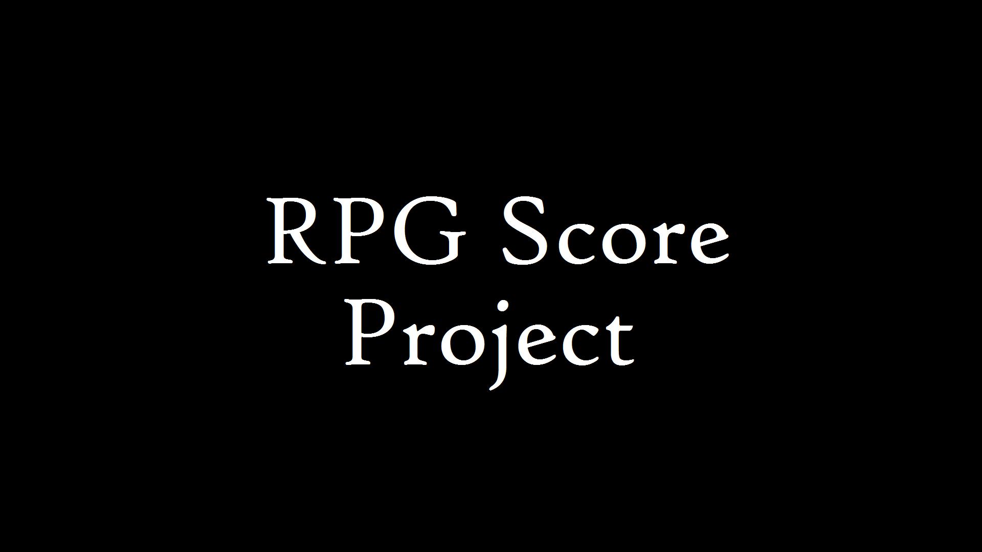 RPG Portfolio Project