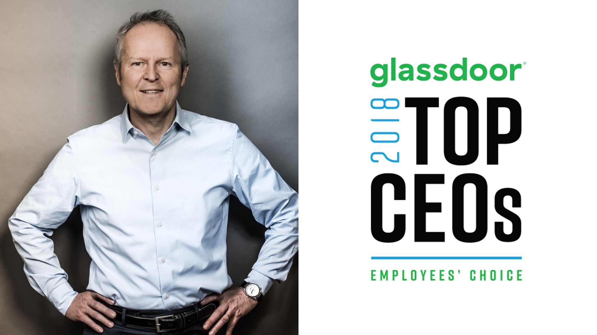 We belYves* in our CEO and CO-Founder, Yves Guillemot, ranked 2nd in France & 5th Canada in Glassdoor's 2018 CEO rankings!