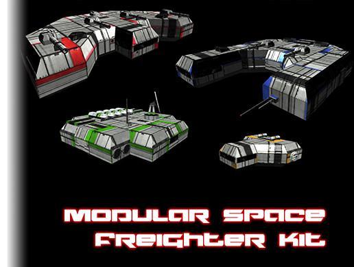 Modular Space Freighter