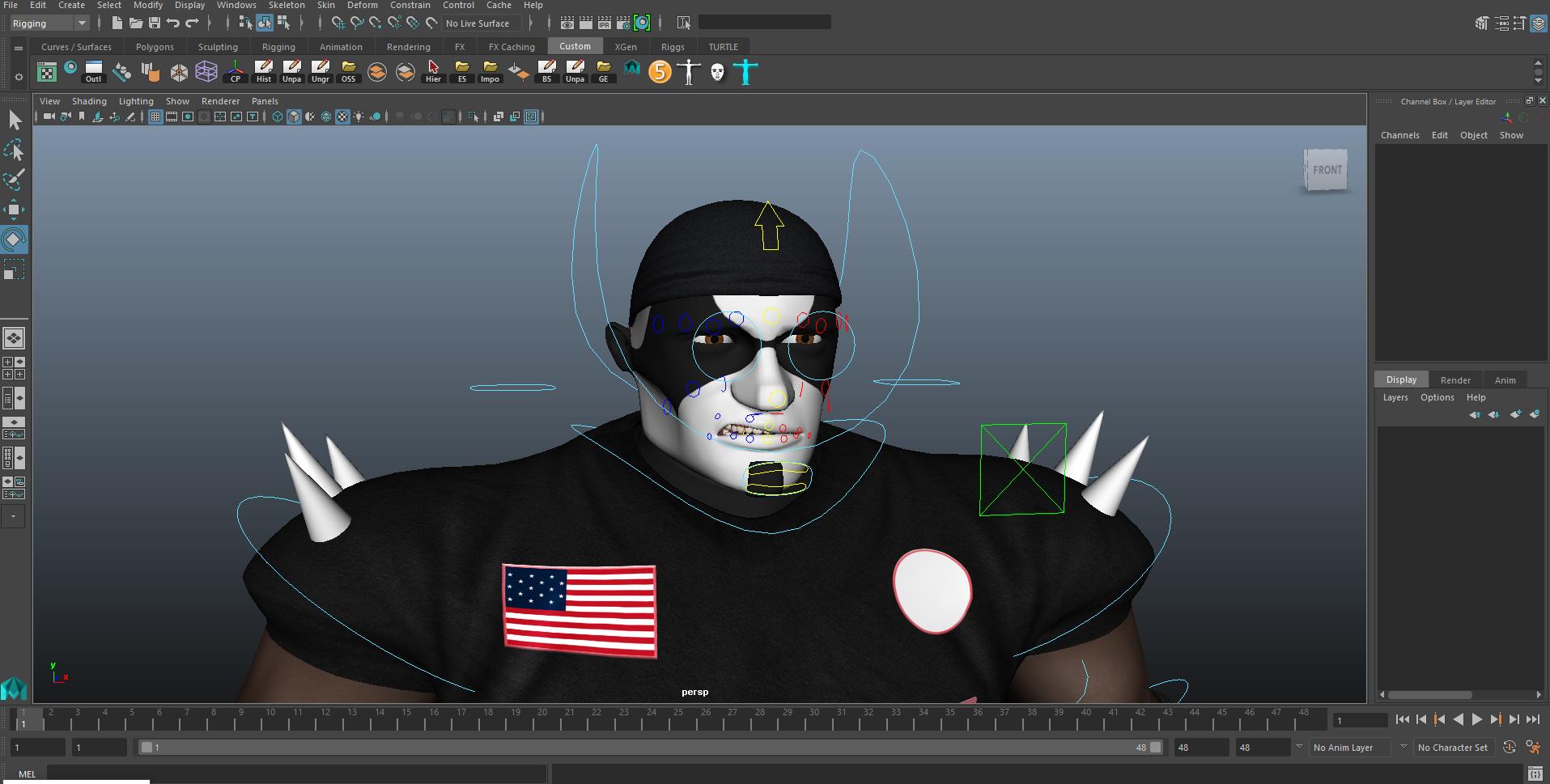Rigging & Animation