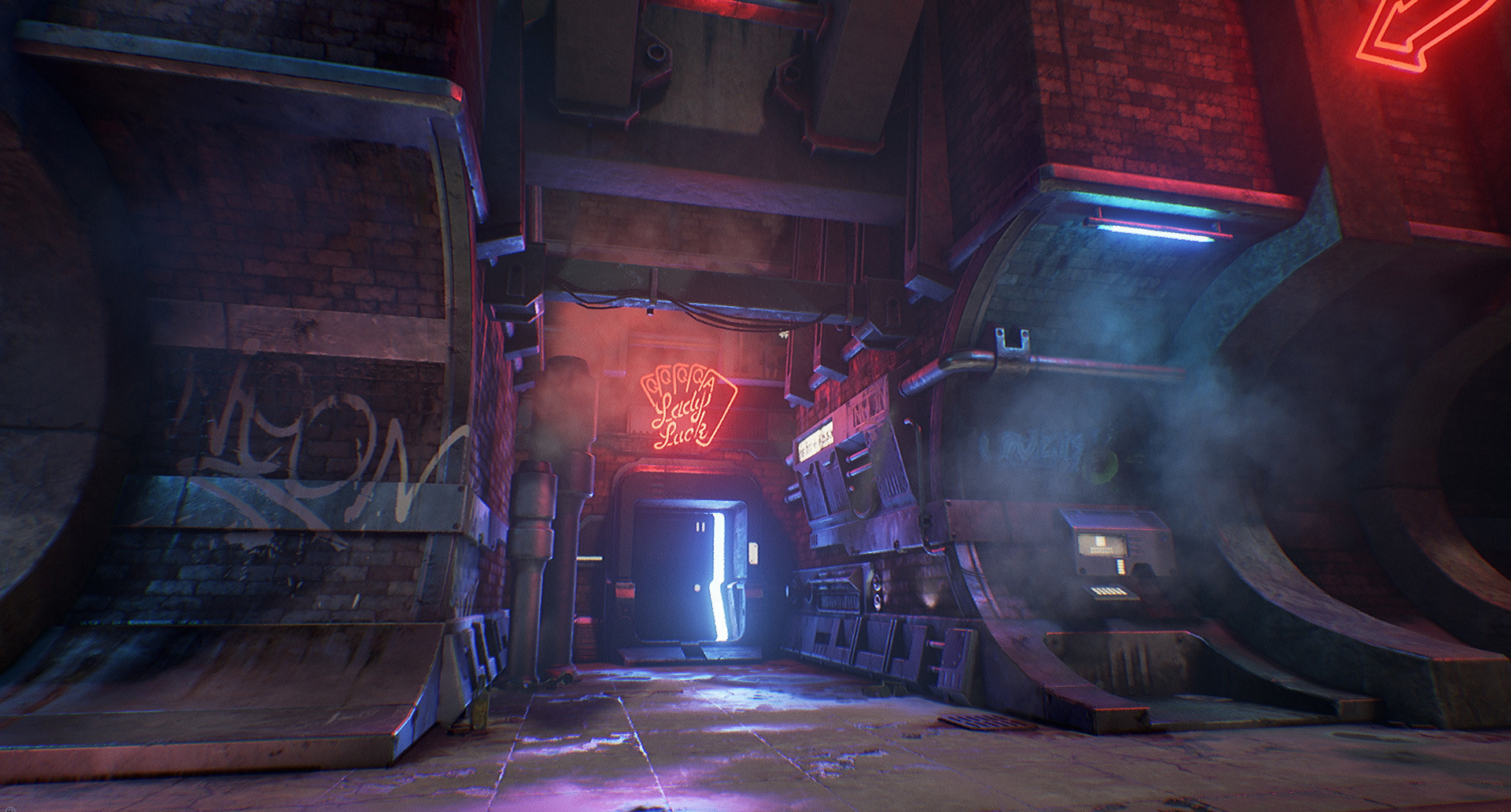 3D Sci-Fi Environment
