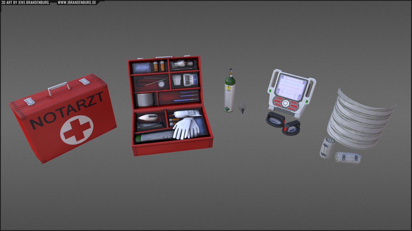 Emergency 5 / 3D Assets