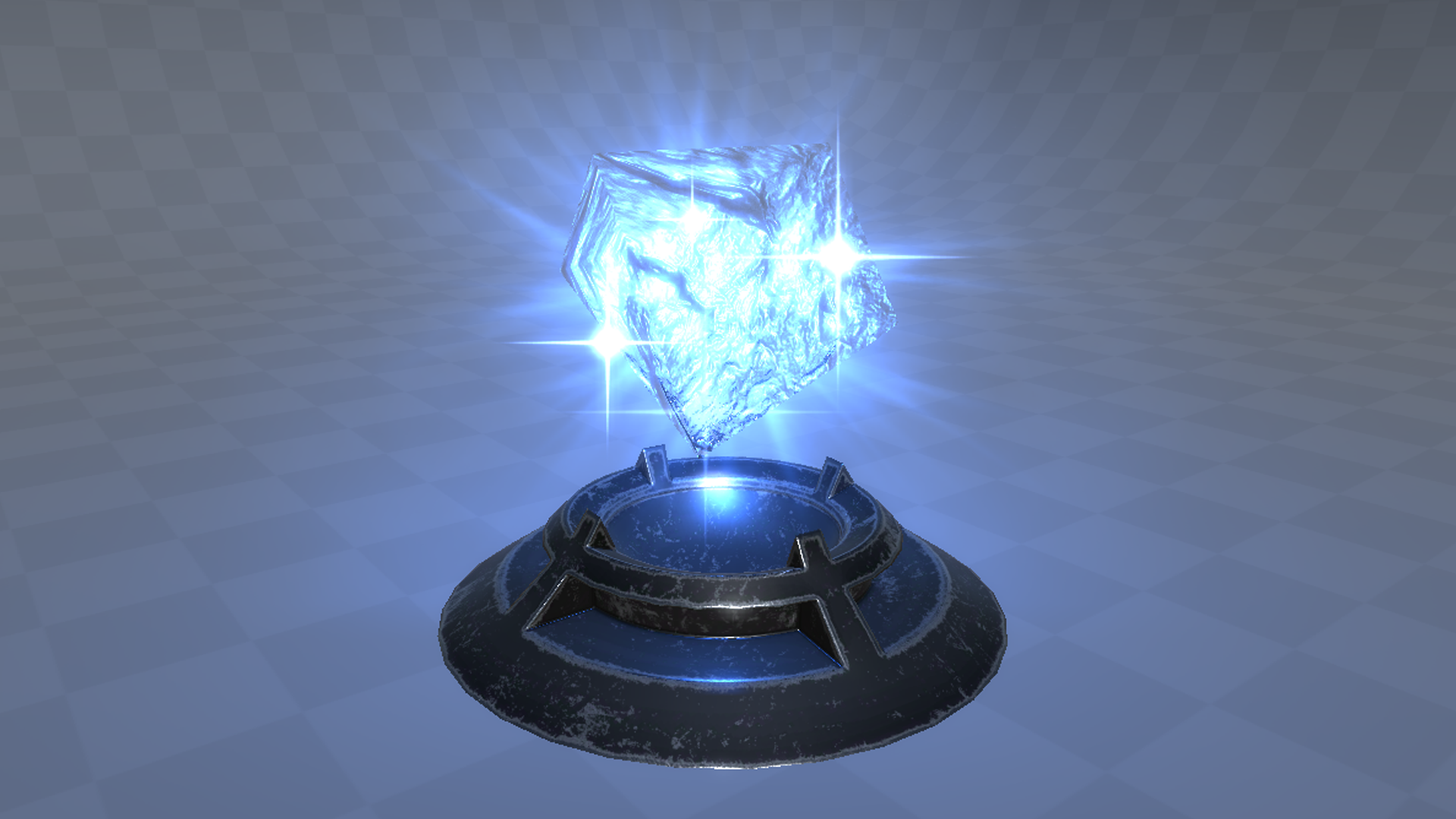 Guide how to create ice magic artifact in Unity 2018.1