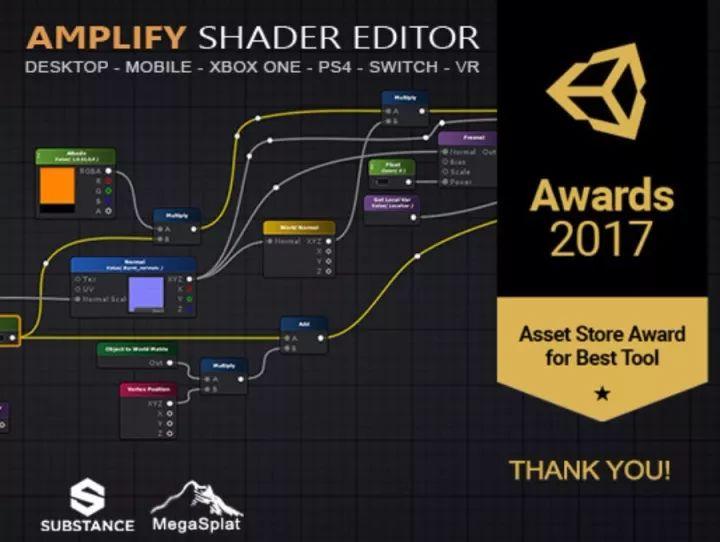 Amplify Shader Editor介绍