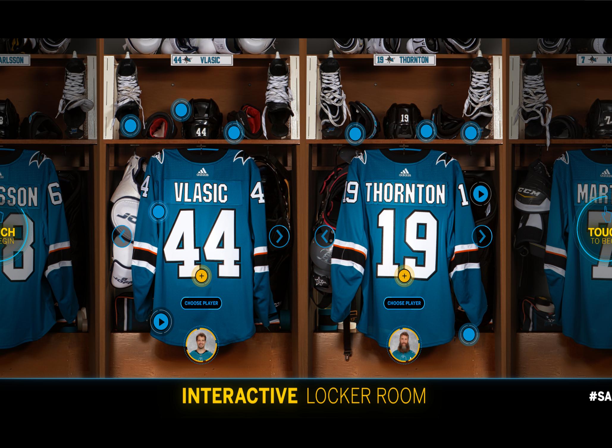 SAP Interactive Locker Room Experience