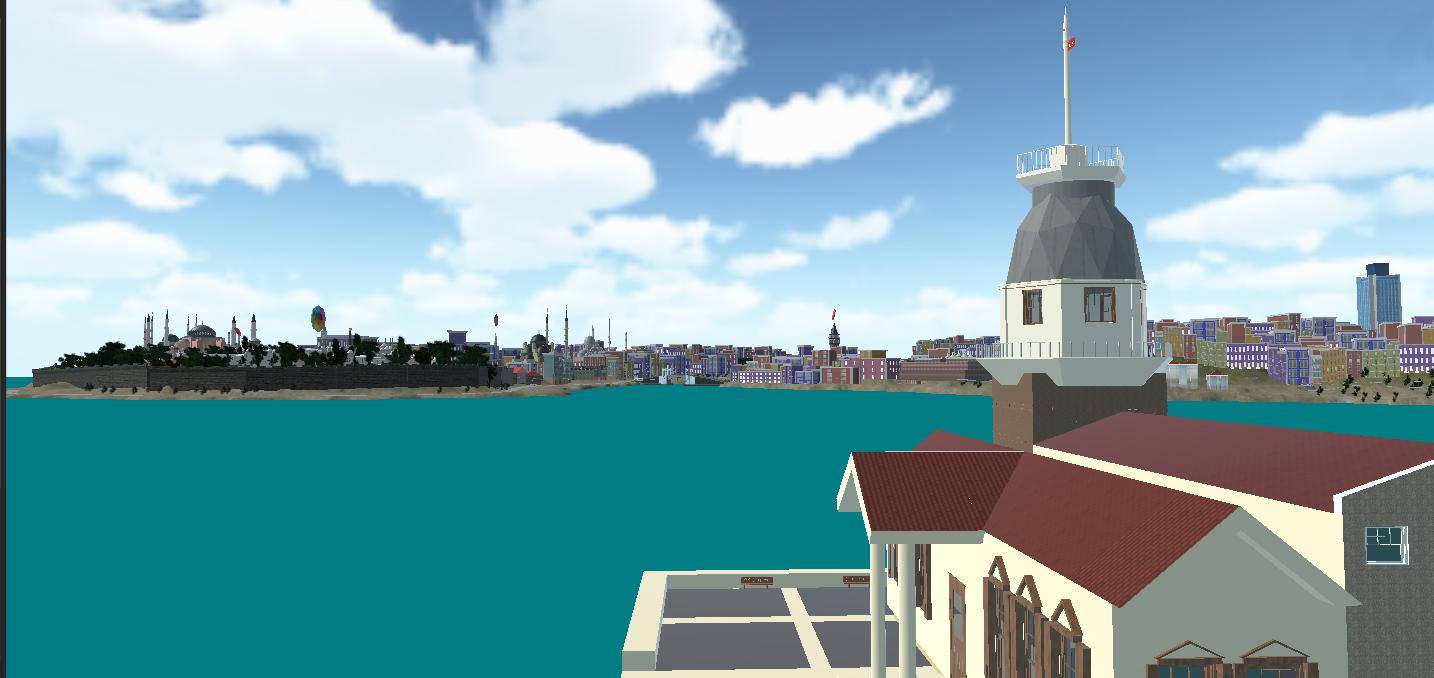 VR Istanbul flight sim