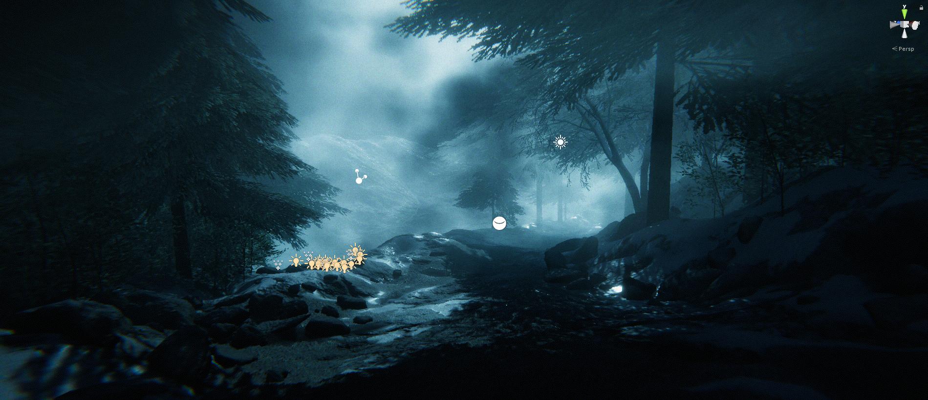 Unity Environment - Snow Mountain (Week 1)