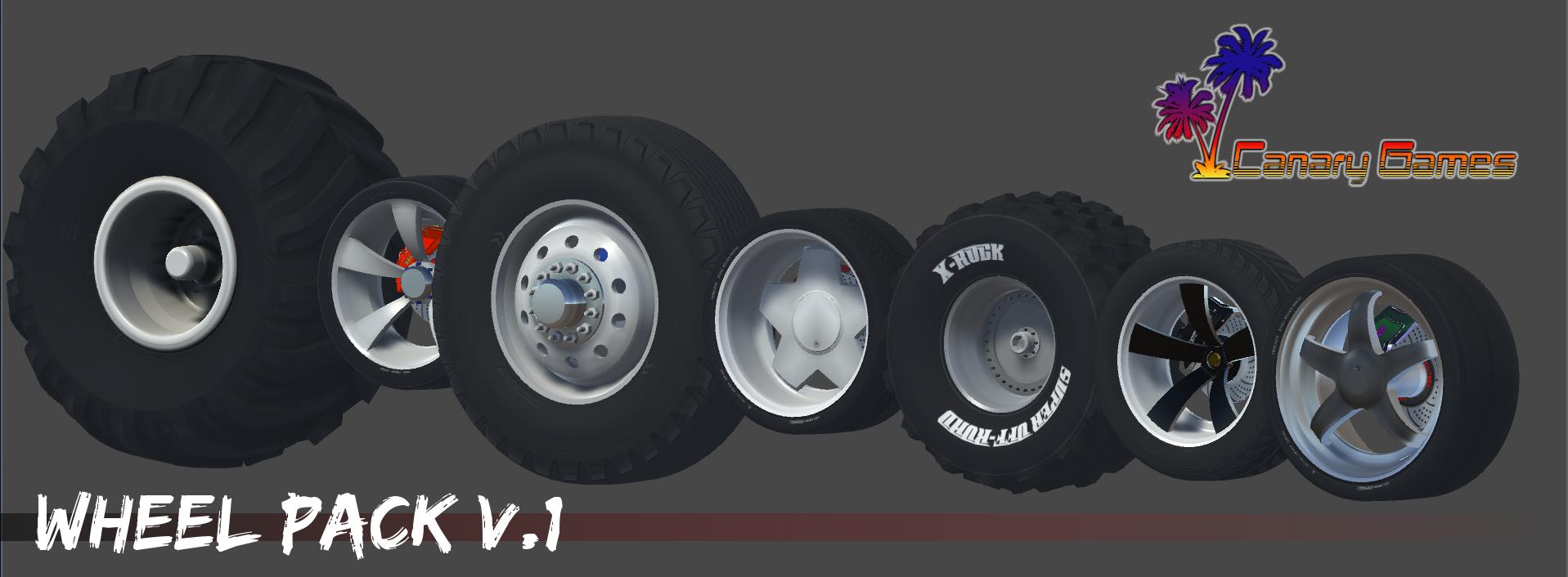 Wheels Pack V.1