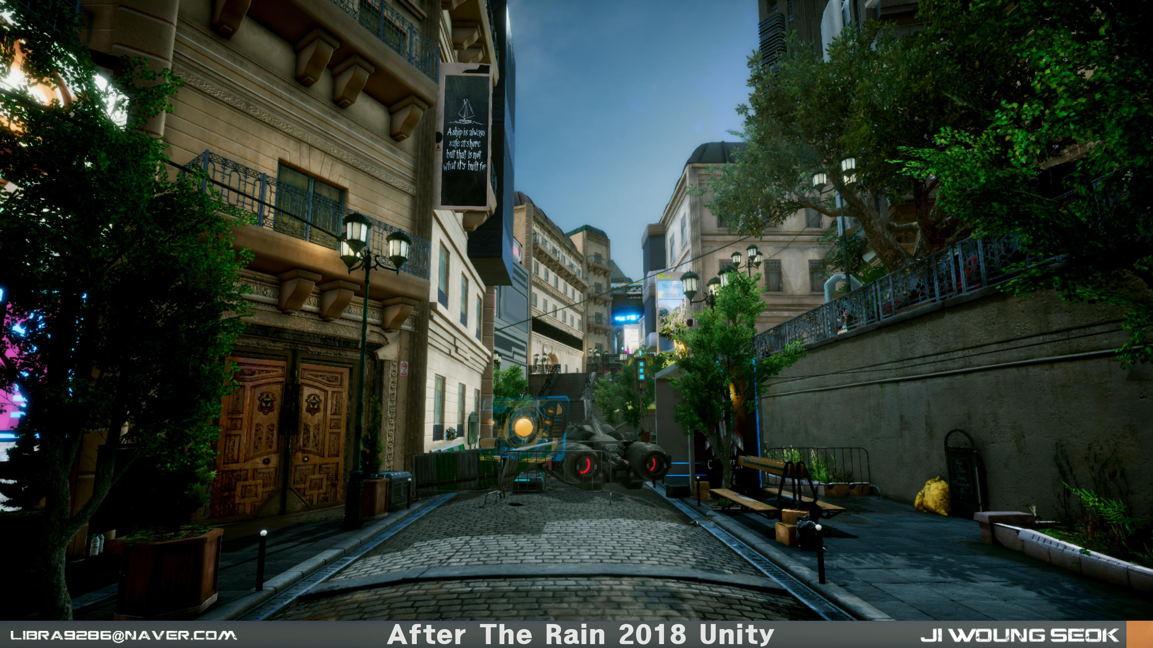 After The Rain Unity 2018 [Final Submission]