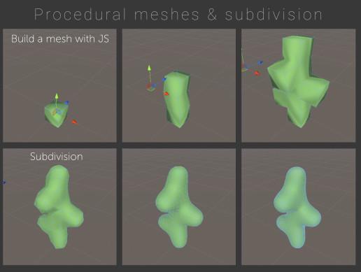 Procedural meshes & subdivision