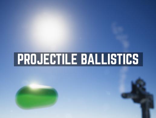 Projectile Ballistics asset is published