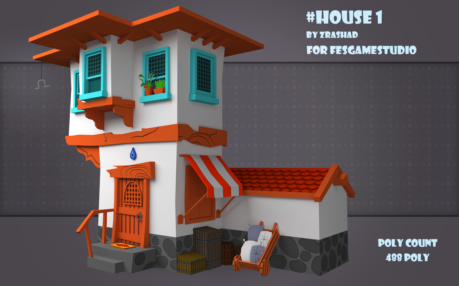 Old Persian House Unity Connect - dollhouse roblox